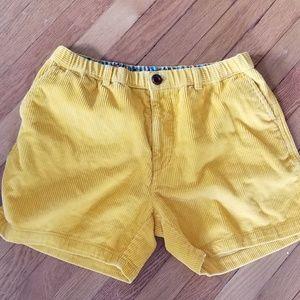 Chubbies corduroy shorts